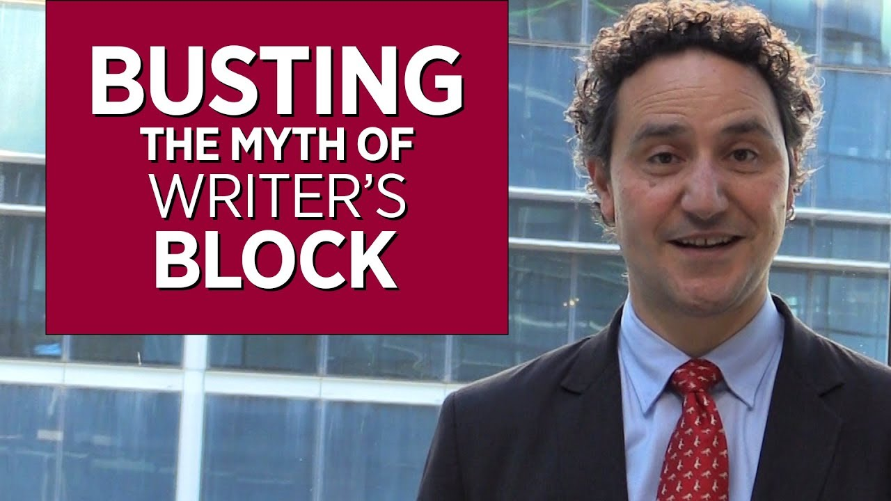Busting the Myth of Writer's Block - YouTube