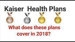 What is covered by Kaiser Permanente California Individual and Family Health Insurance Plans