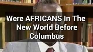 We're AFRICANS in the Americans before Columbus? The MOST HONORABLE Cheikh Anta Diop