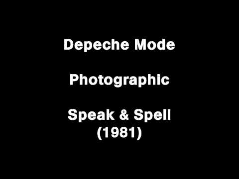 Depeche Mode   Photographic (orginal Speak & Spell version) HD audio