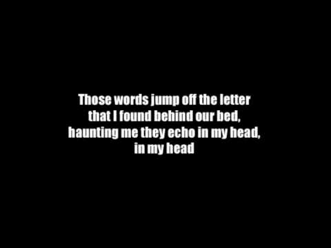 Hoobastank - The letter (Lyrics)