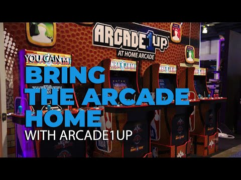 Put a Retro Gaming Arcade In Your House with Arcade1UP from GetConnected Media