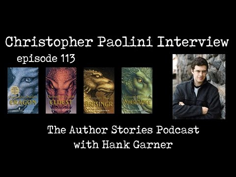 The Author Stories Podcast Episode 113 | Christopher Paolini Interview