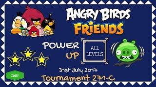 Angry Birds Friends Tournament 271-C All Levels POWER UP Walkthrough
