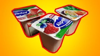 Самые дешёвые йогурты! Как такое можно есть? - обзор