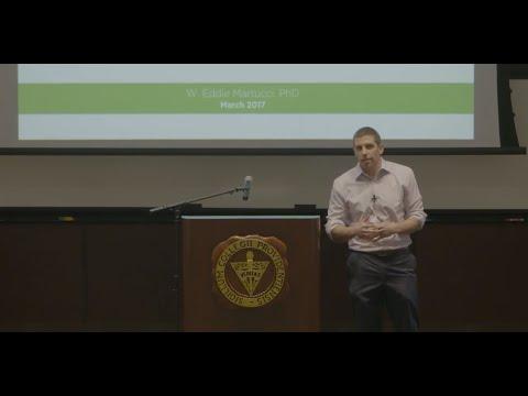 Inaugural Lavoie Lecture: Dr. W. Eddie Martucci '04