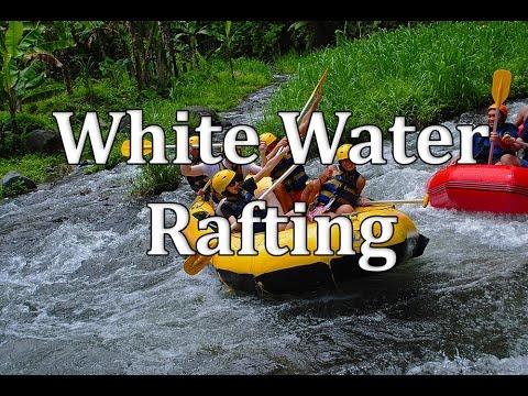 Extreme White Water Rafting in Bali