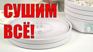 видео Сушилки для овощей и фруктов Элвин СУ-1
