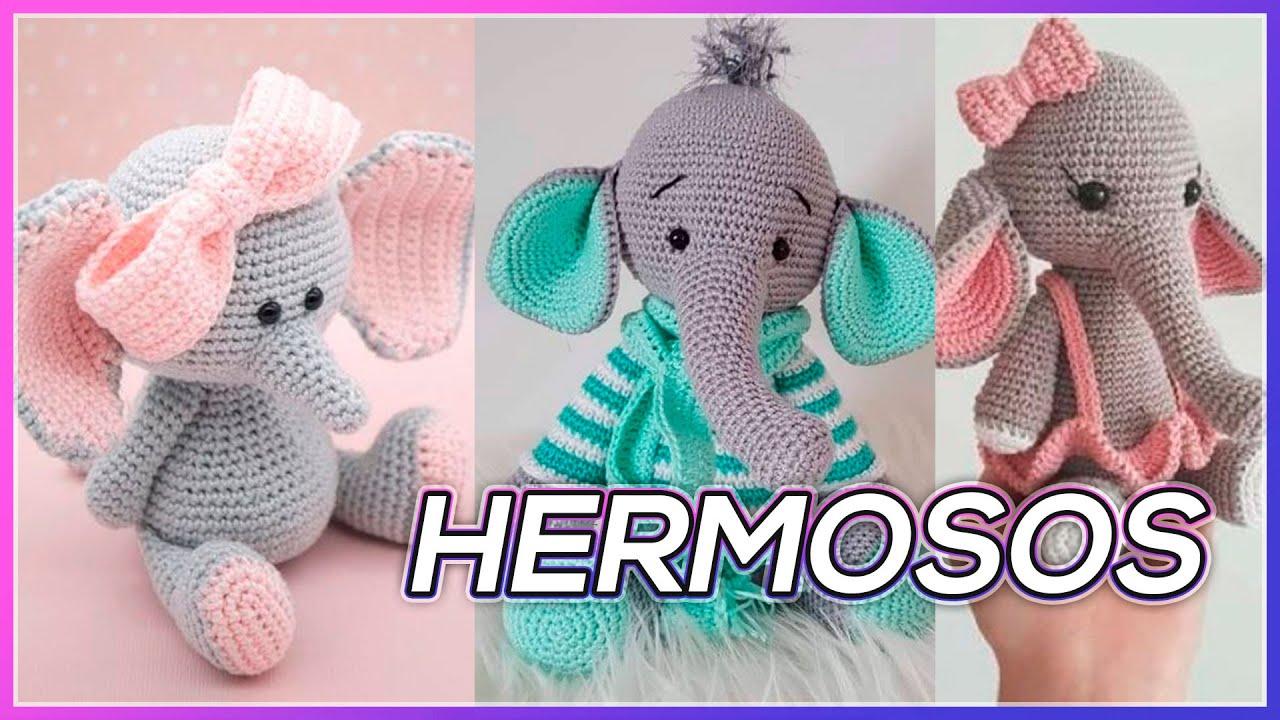 Elefante amigurumi parte1 Tutorial crochet - YouTube | Elefante ... | 720x1280