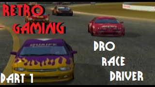 Retro Gaming - PRO RACE DRIVER. Part 1. Free Race. Gameplay, Lets Play