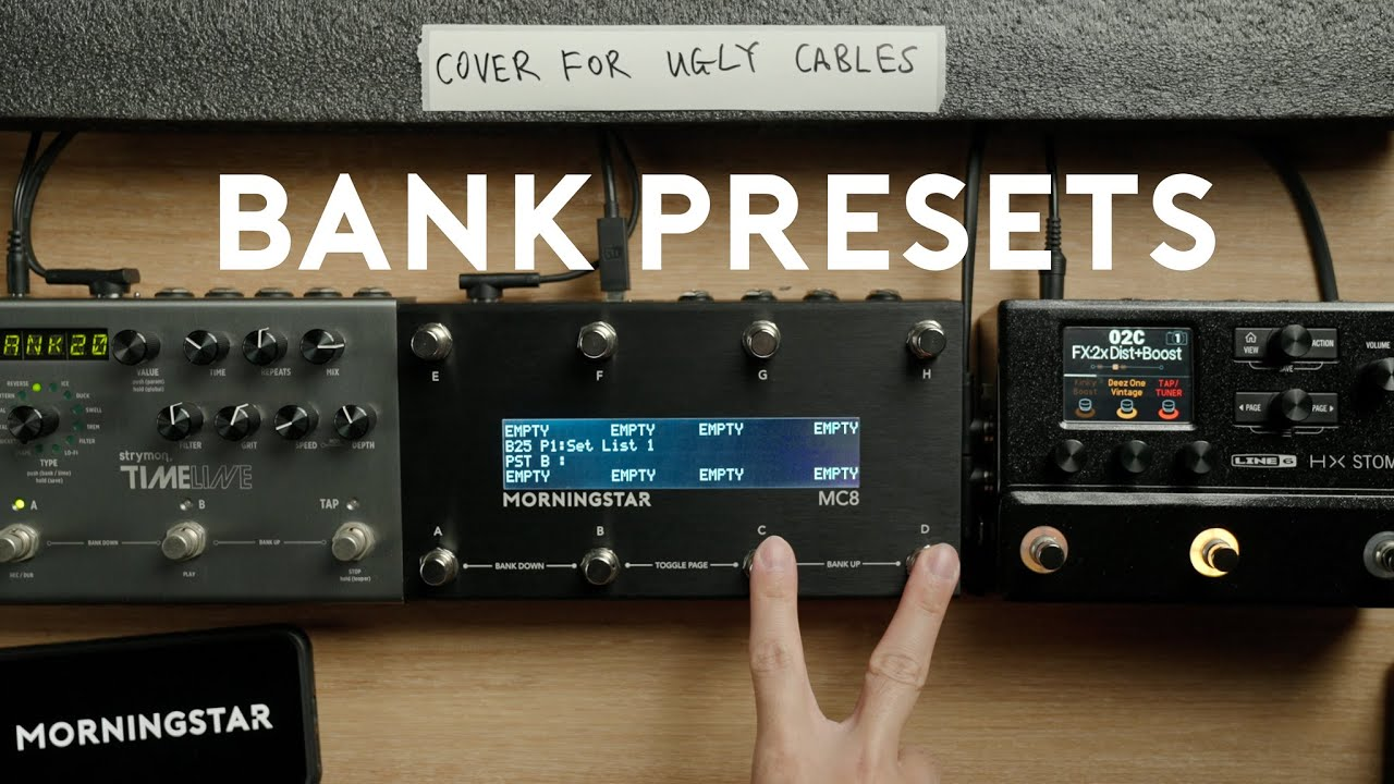 Bank Presets: Send MIDI Messages by Entering or Exiting a Bank