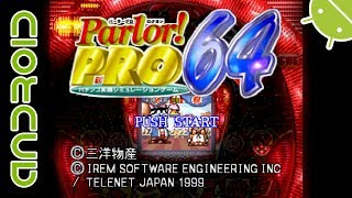 Parlor! Pro 64 - Pachinko Jikki (J) | NVIDIA SHIELD Android TV Mupen64Plus FZ Emulator [1080p] | N64