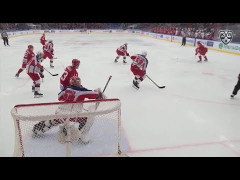 Semin Opens The Scoring In Power Play