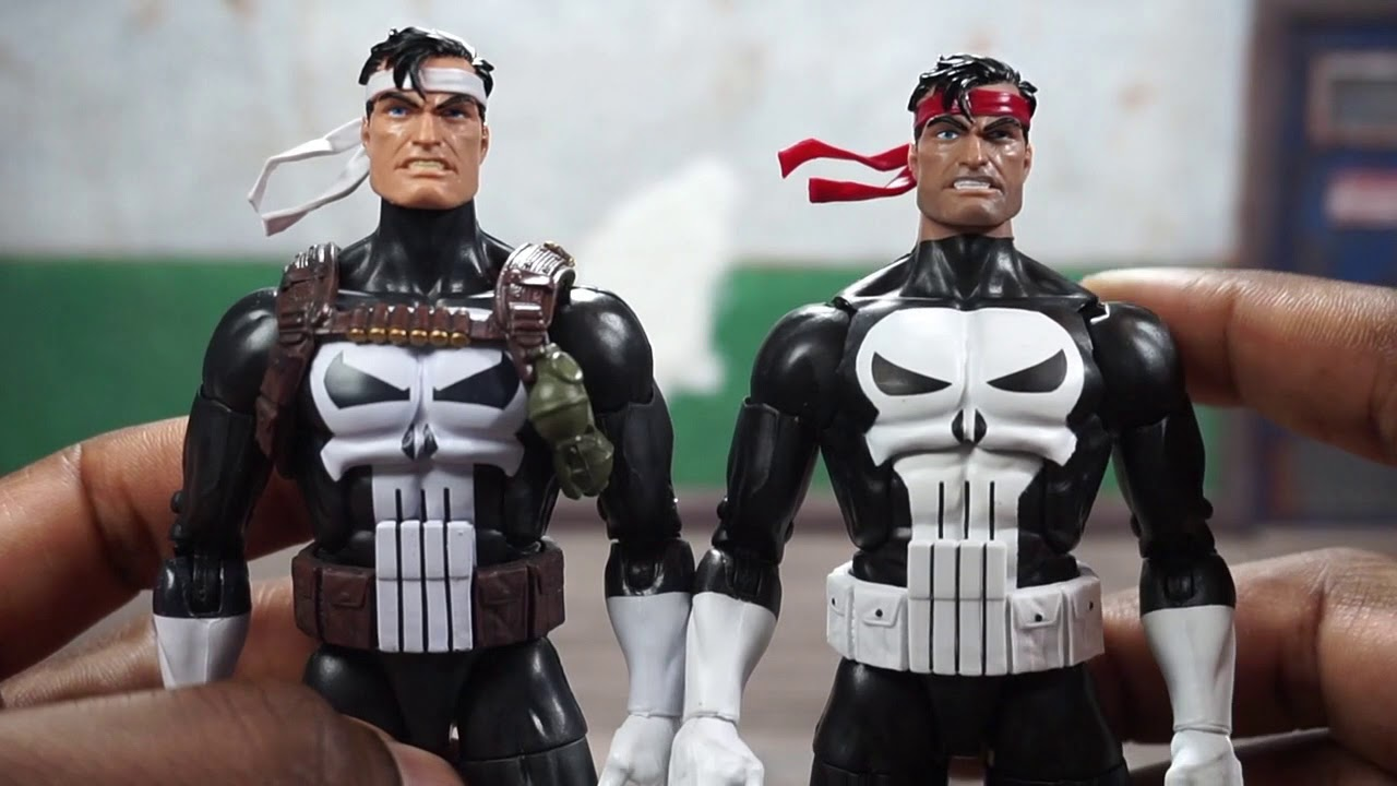 Marvel Legends ** RETRO VINTAGE PUNISHER ** NEW