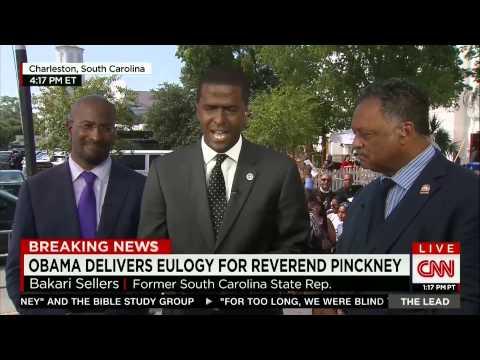 CNN The Lead: Van Jones, Bakari Sellers and Rev. Jesse Jackson in Charleston