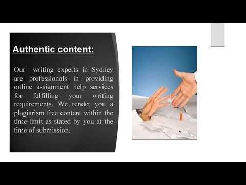 Assignment Help Sydney: Expert Work Instantly