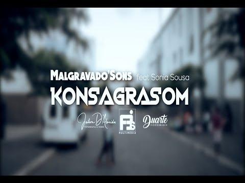 Malgravado'Sons Feat Sónia Sousa - Konsagrasom [Video Oficial](Prod By EDOBY)