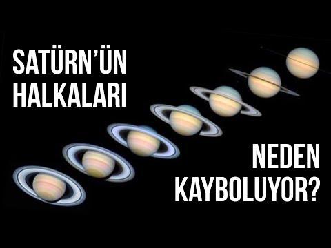 Satürn'ün Halkaları Neden Kayboluyor?