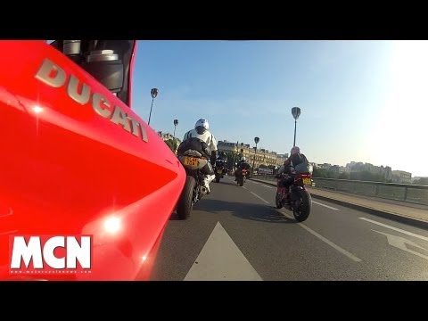 Hyperstrada on tour | Video Diaries | Motorcyclenews.com