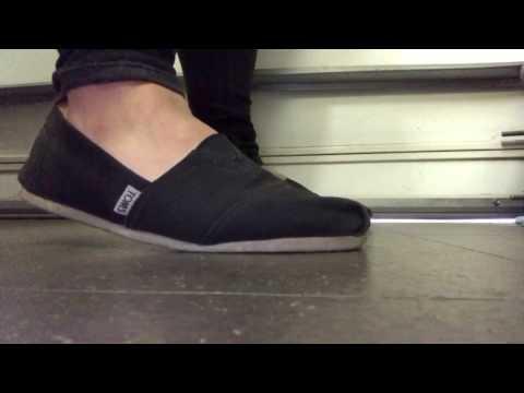 Changing ped socks