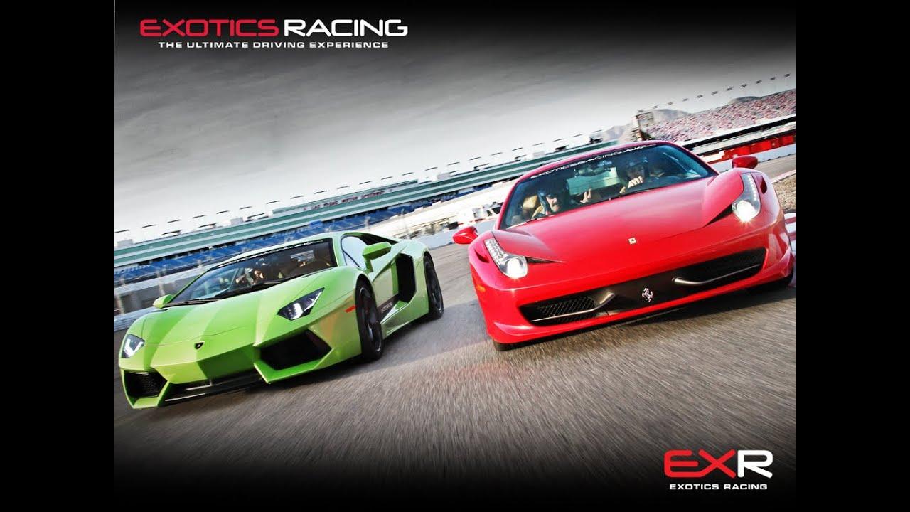 Marcelo In Exotics Car Las Vegas Motor Speedway