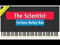 Corinne Bailey Rae The Scientist Piano Cover How To Play Tutorial mp3