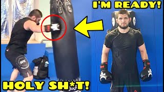 Khabib SHARES new training clip and is ready for UFC return, Dan Hooker REACTS to Poirier loss,Tyron