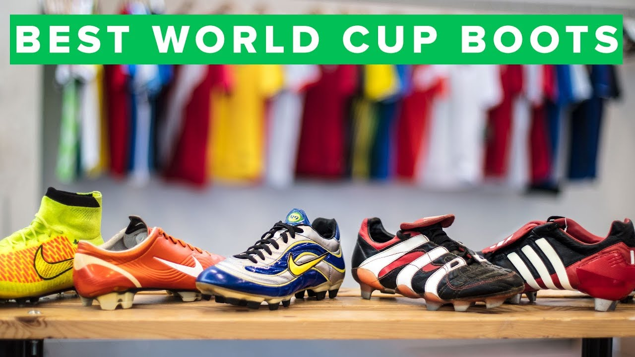 3038ab5df151be TOP 5 WORLD CUP FOOTBALL BOOTS EVER MADE - YouTube