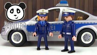 ⭕ PLAYMOBIL Polizei - Polizeiauto - Spielzeug ausgepackt & angespielt - Pandido TV