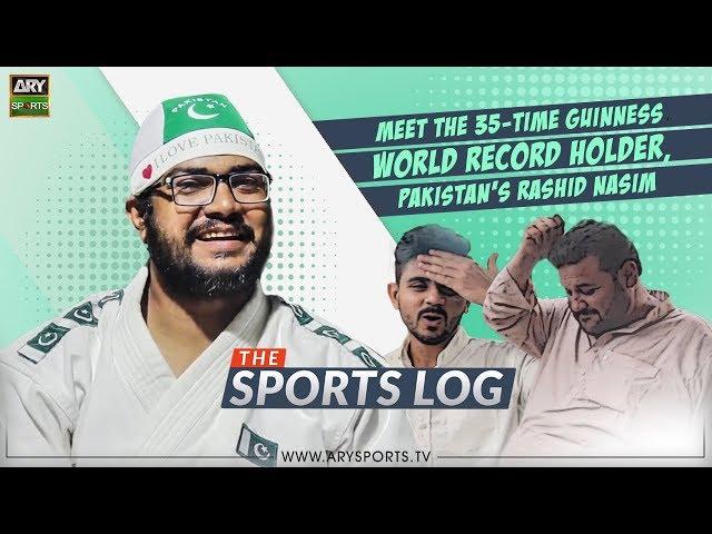 Sportslog: Meet the 35-time Guinness World Record holder, Pakistan's Rashid Nasim