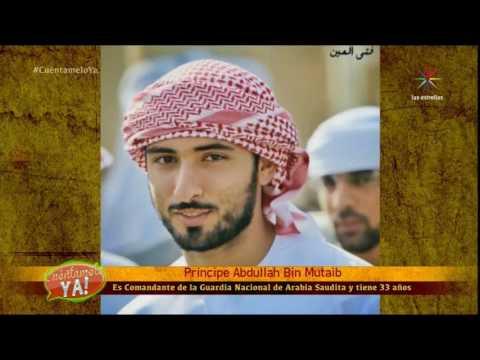 Abdullah Bin Mutaib PRINCIPE Arabe Popular en Social Media