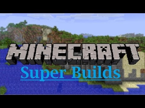 minecraft-super-builds:-old-school-building-and-a-town-square