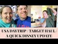🇺🇸 Daytrip / Target Haul / Disney Update | Gillian At Home