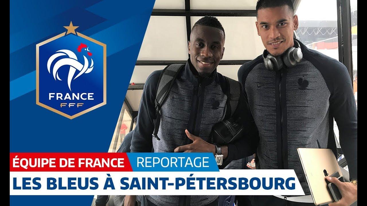Equipe de France : Les Bleus à Saint-Pétersbourg I FFF 2018