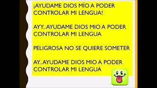 Ayúdame Dios mio a controlar mi lengua (Letra ) Maria Payano.