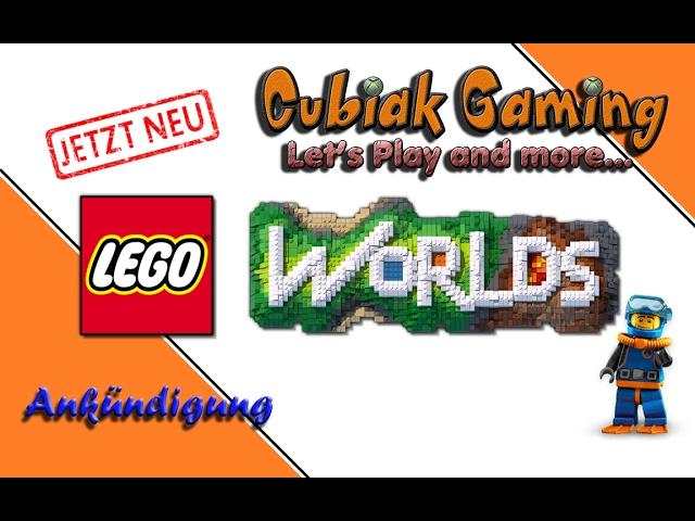 Let's Play LEGO Worlds - Ankündigung ★ RAN AN DIE KLÖTZE