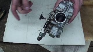 Yamaha TTR 250 Как устроен карбюратор