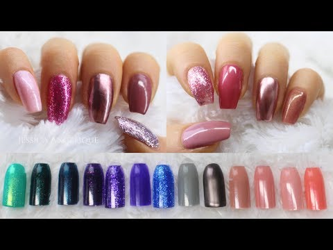 ♡ Swatches: Madam Glam Gelpolishes 40% DISCOUNT CODE