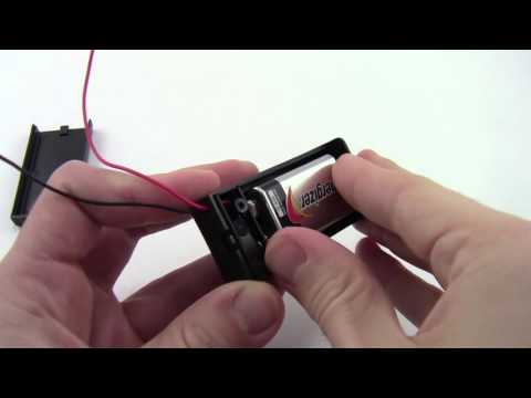 How to Install a 9V Battery