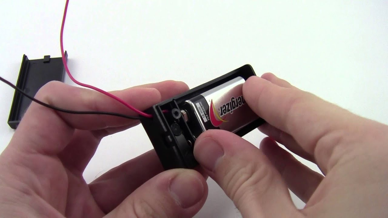 How To Install A 9v Battery Youtube B Guitar Output Jack Wiring