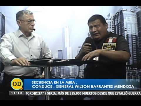 GENERAL BARRANTES EN LA MIRA , POR ONDA DIGITAL TELEVISION