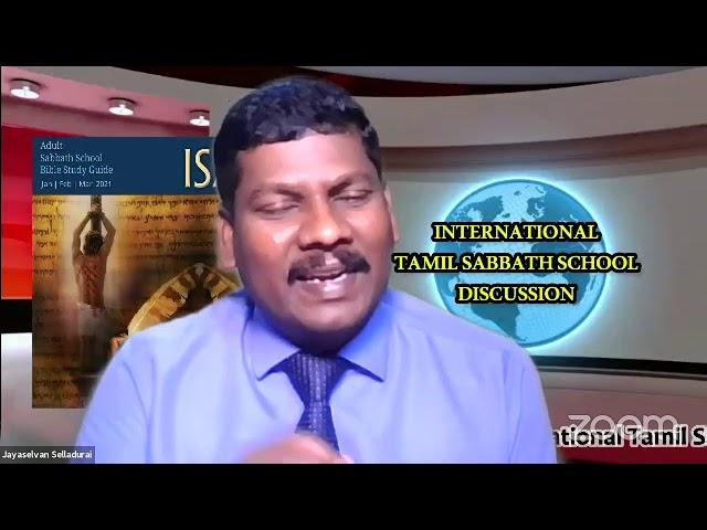 25Feb2021Qtr.1:ISAIAH-LS-9:Tamil Sabbath School–பாடுகள் நிறைந்த, உணருகிற தாசன் by Mrs.Ramani Prakash