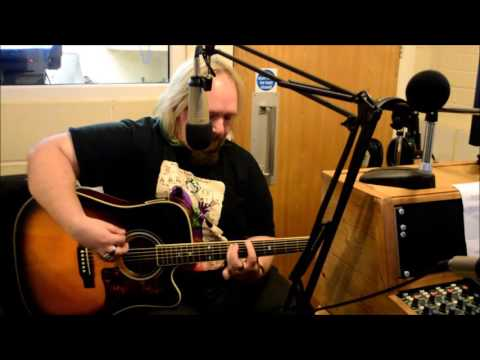 Joe Green perfoming on Borough Blues on Radio Ashford