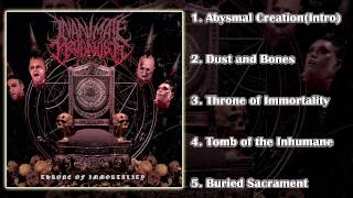 Inanimate Prognosis - Throne of Immortality (FULL EP 2015/HD)