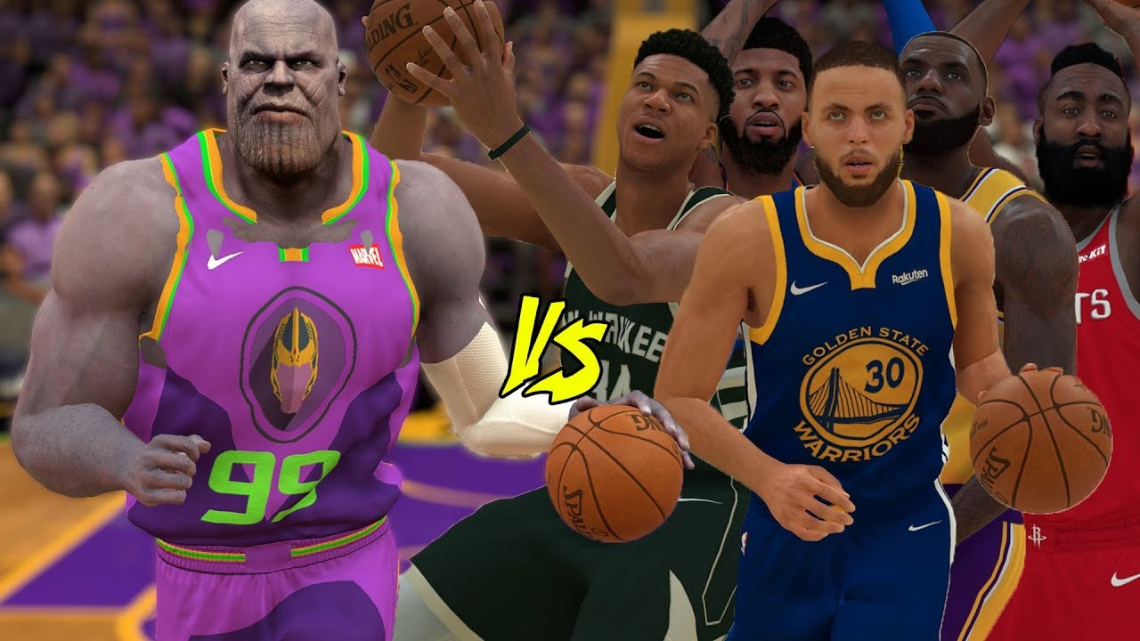 f6e4a9c5724d Thanos Vs The Best Players In The NBA!