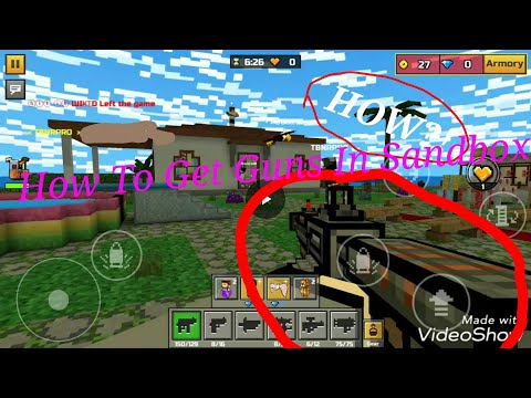 (13.5.3 PATCHED)How To Get Guns In Sandbox | Pixel Gun 3D 12.6.0