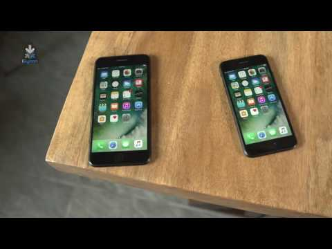 Apple iPhone 7 and iPhone 7 Plus Unboxing and Hands On Matte Black India - iGyaan
