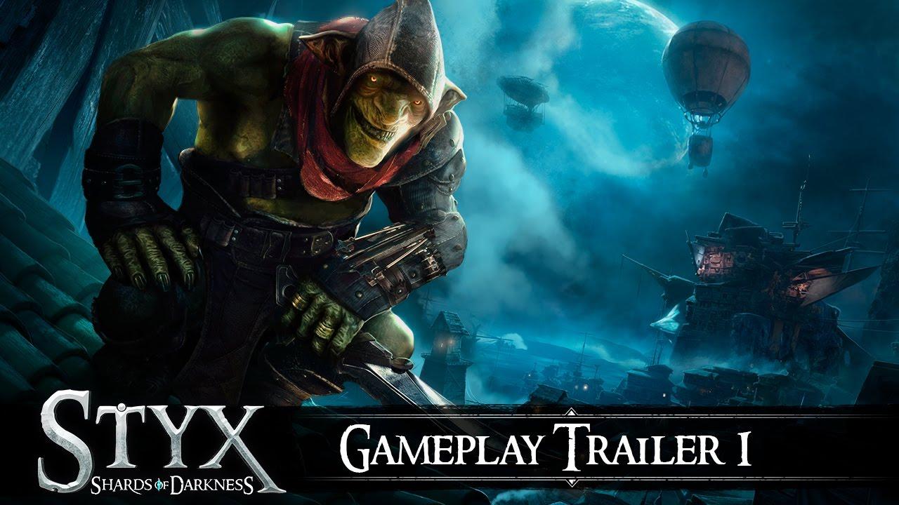 styx shards of darkness gameplay trailer youtube