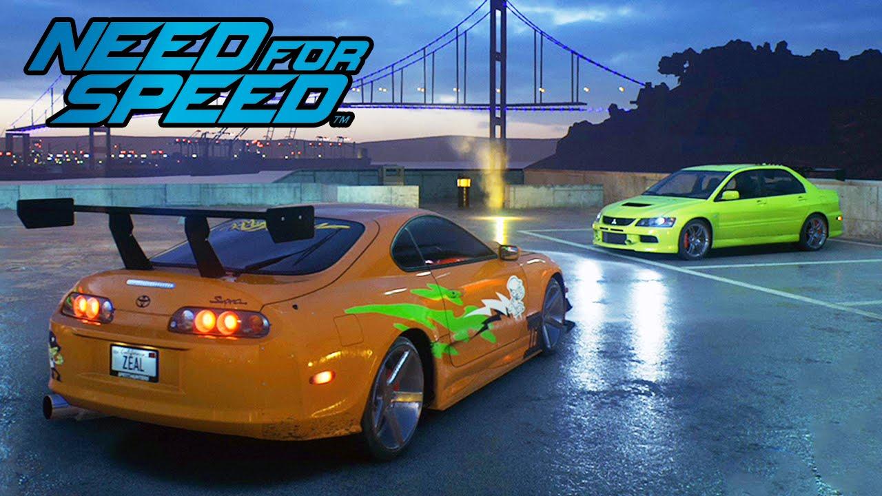 Need For Speed Supra Vs Lancer Carros Do Velozes E