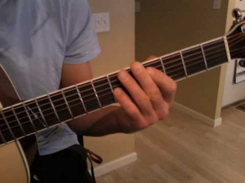 Foo Fighters Everlong - EASY Acoustic Power Chord Song - Guitar ...